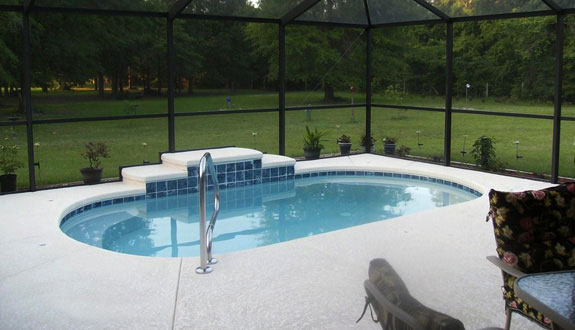 New Swimming Pool Construction And